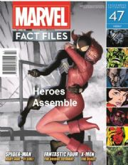 Marvel Fact Files #47 Eaglemoss Publications